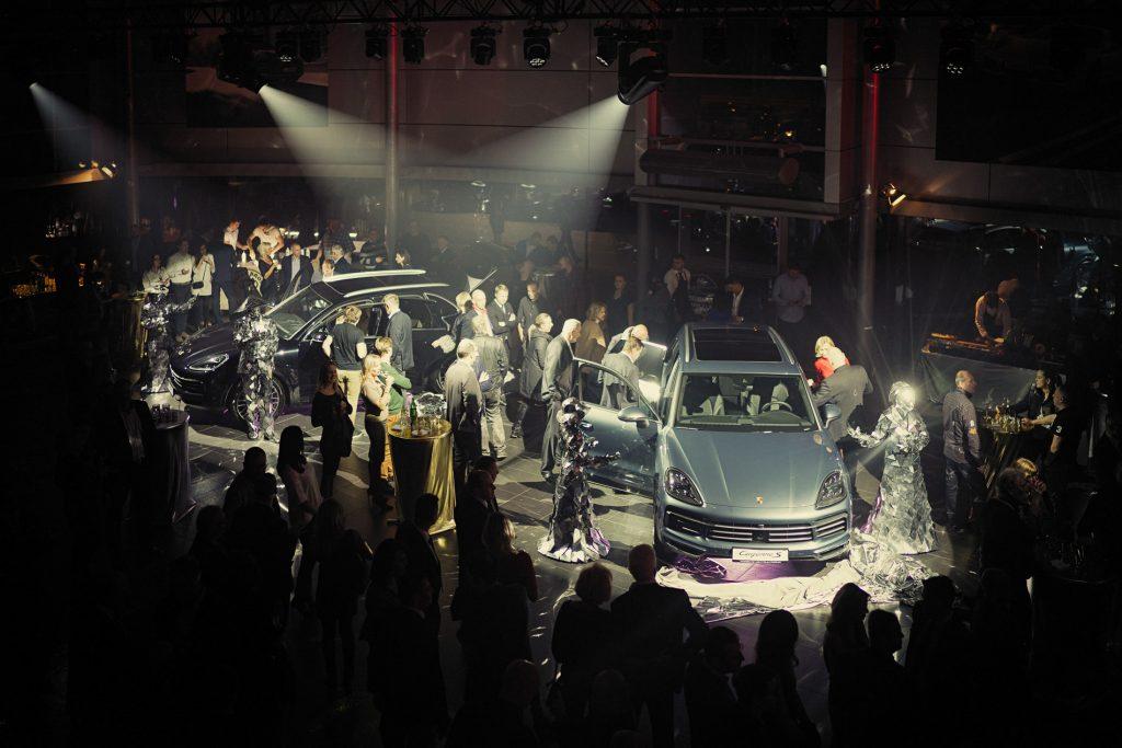 představení Porsche Cayenne